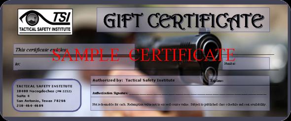 CHL San Antonio Gift Certificate